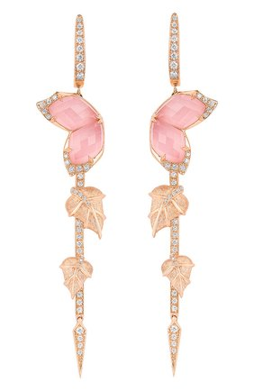 Женские серьги STEPHEN WEBSTER розового золота цвета, арт. 3019432 | Фото 1