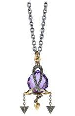 Женские кулон STEPHEN WEBSTER бесцветного цвета, арт. 3012406 | Фото 1 (Материал сплава: Серебро; Драгоценные камни: Другие)
