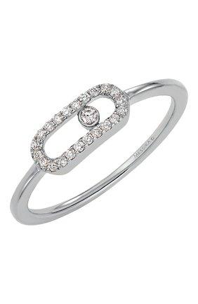 Женские кольцо MESSIKA белого золота цвета, арт. 04705-WG | Фото 1