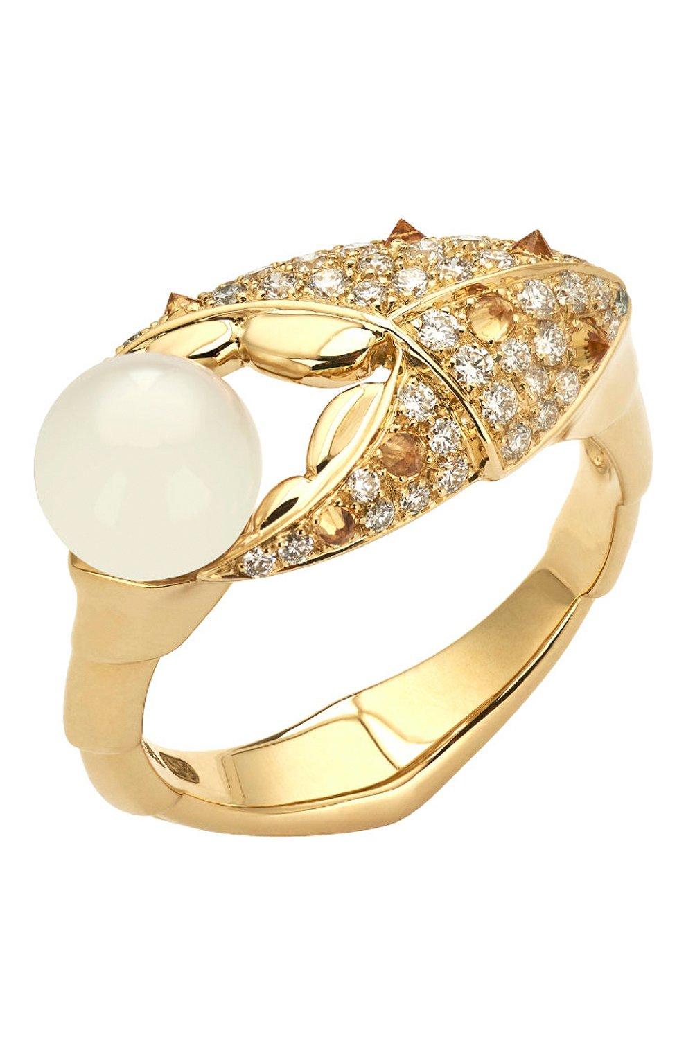 Женские кольцо STEPHEN WEBSTER желтого золота цвета, арт. 3019871 | Фото 1