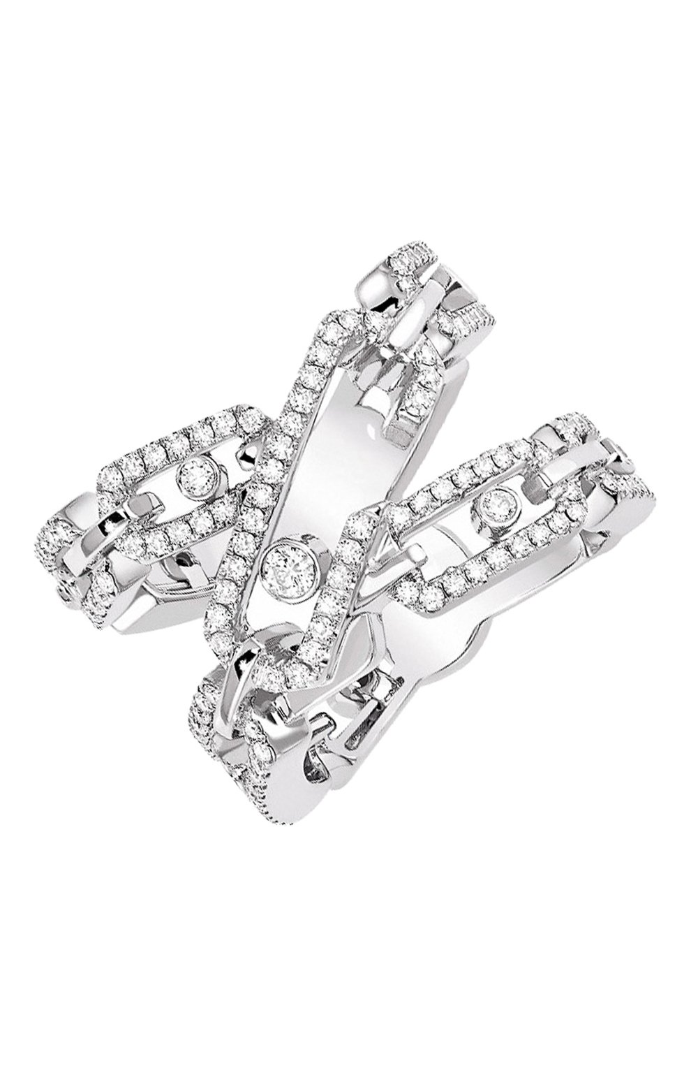 Женские кольцо MESSIKA белого золота цвета, арт. 06880-WG | Фото 1