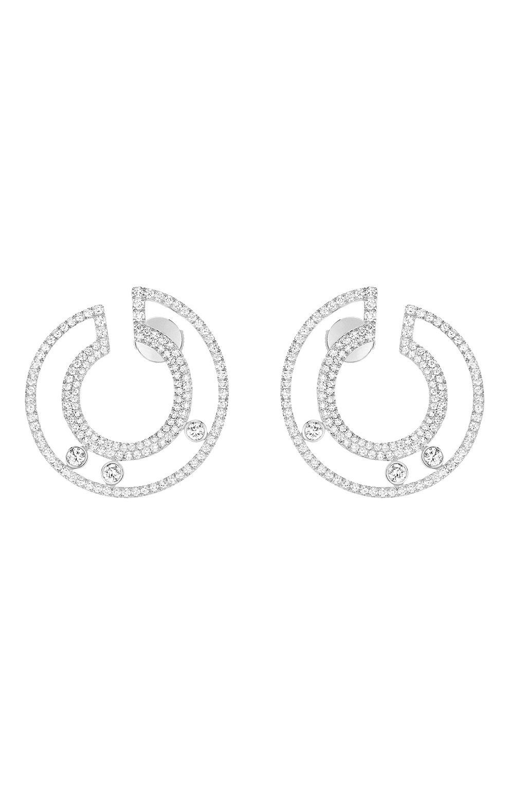 Женские серьги MESSIKA белого золота цвета, арт. 07140-WG | Фото 1
