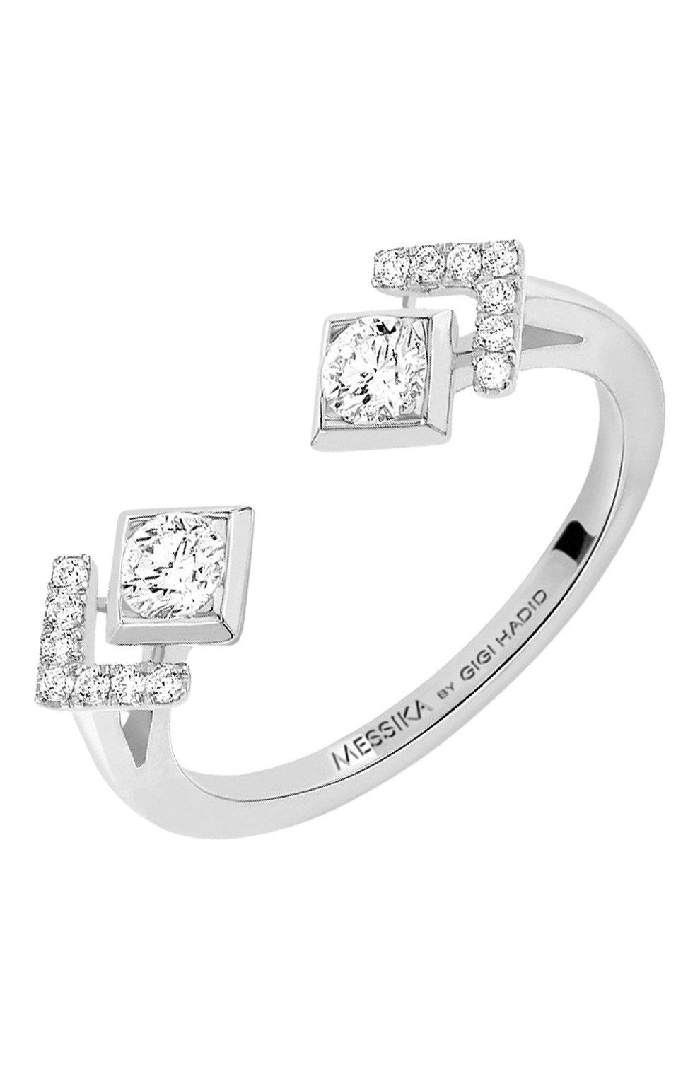 Женские кольцо MESSIKA белого золота цвета, арт. 07236-WG | Фото 1