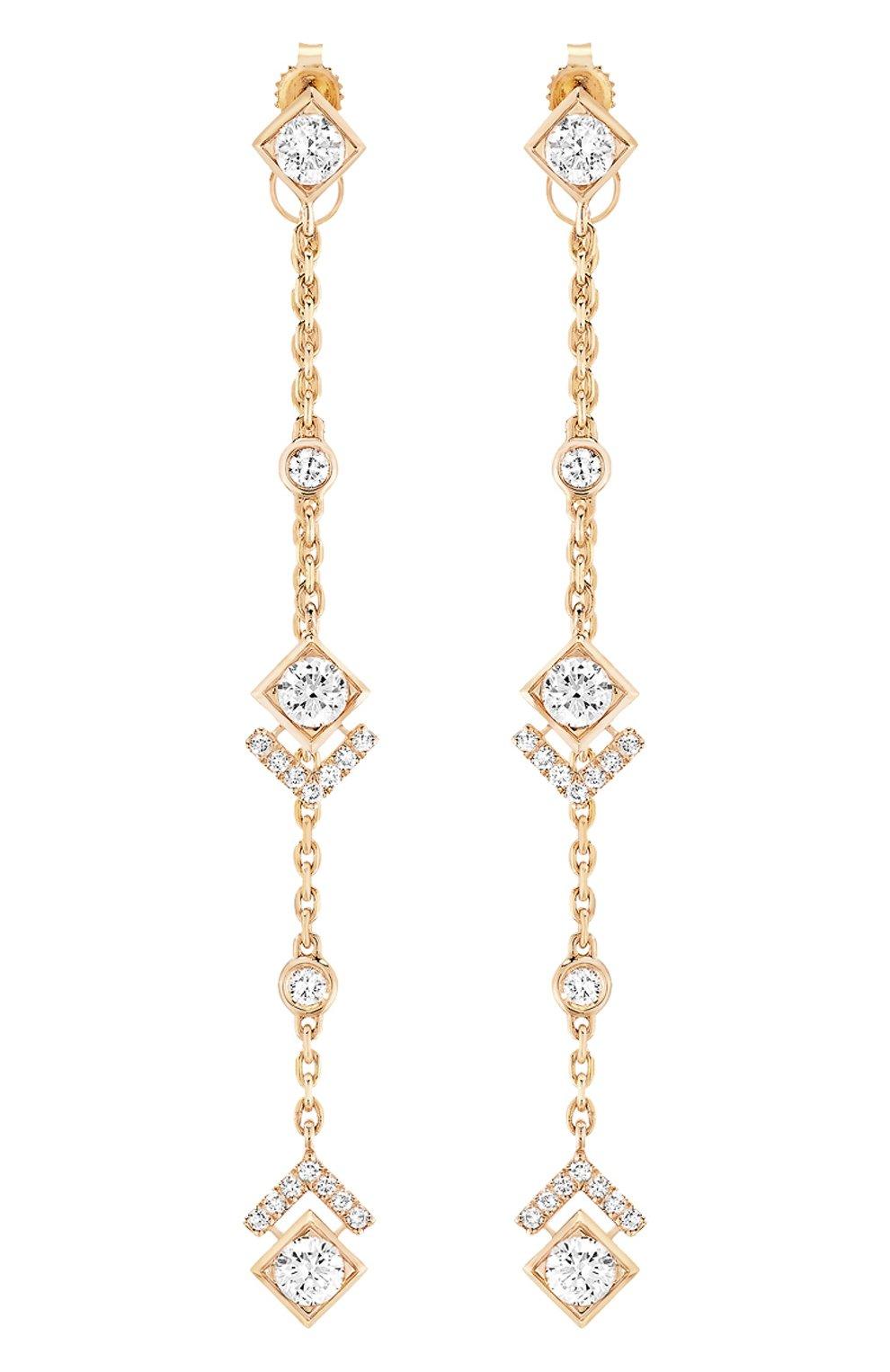 Женские серьги MESSIKA розового золота цвета, арт. 07233-PG   Фото 1
