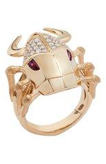 Женские кольцо STEPHEN WEBSTER бесцветного цвета, арт. 3021068   Фото 1