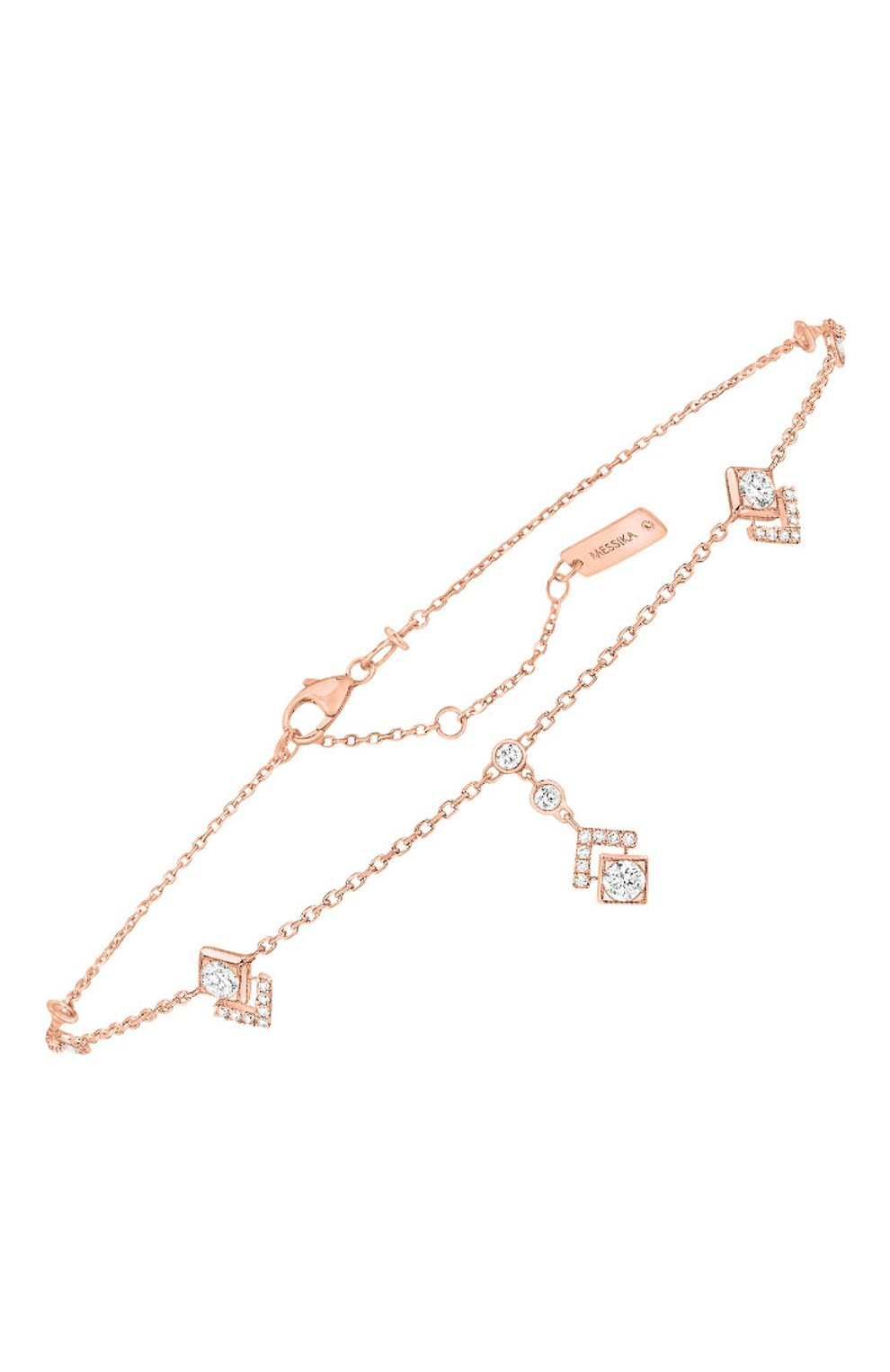 Женские браслет MESSIKA розового золота цвета, арт. 07315-PG | Фото 1