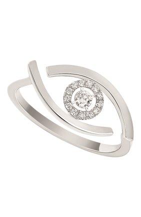 Женские кольцо MESSIKA бесцветного цвета, арт. 10036-WG | Фото 1