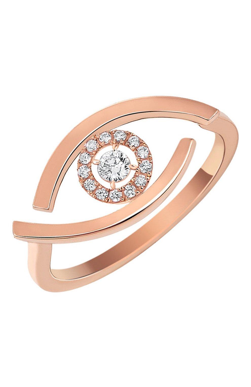 Женские кольцо MESSIKA розового золота цвета, арт. 10036-PG | Фото 1