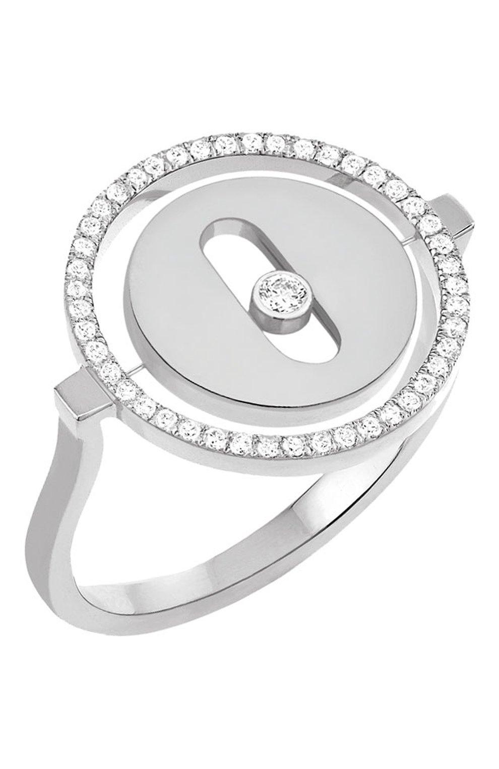 Женские кольцо MESSIKA белого золота цвета, арт. 07470-WG | Фото 1