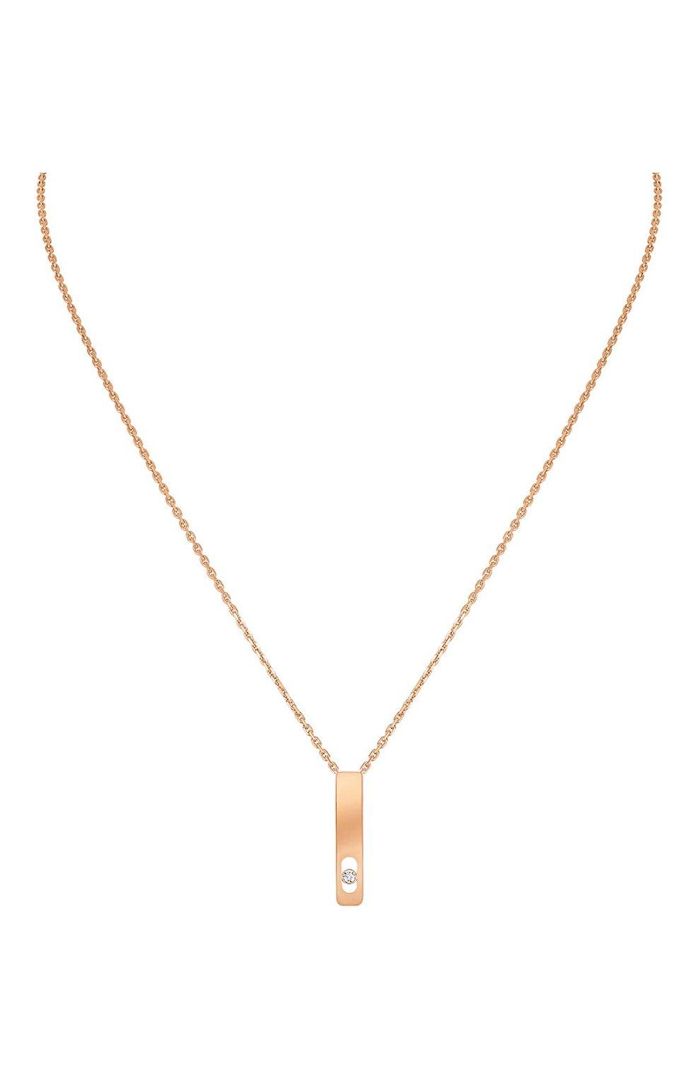 Женские колье MESSIKA розового золота цвета, арт. 07498-PG   Фото 1