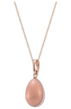 Женские кулон MERCURY розового золота цвета, арт. PL324/OP/00/00/103 | Фото 1