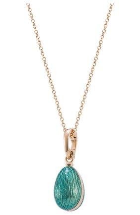 Женские кулон MERCURY бесцветного цвета, арт. PL323/TU/00/00/102 | Фото 1 (Материал сплава: Желтое золото; Драгоценные камни: Бриллианты)