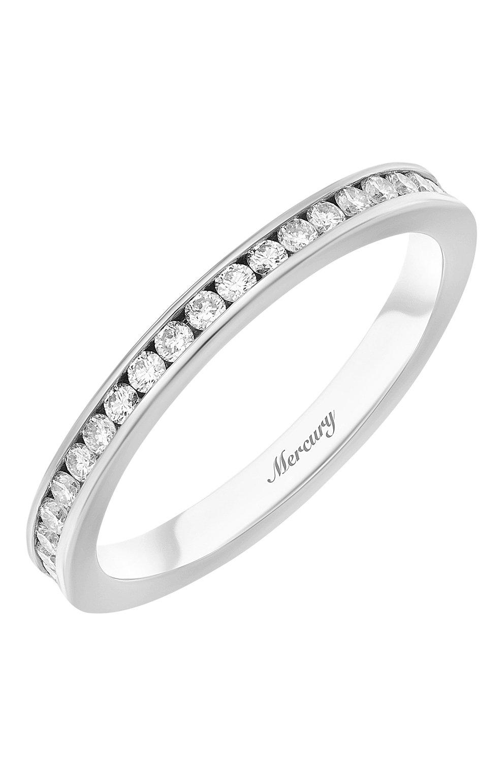 Женские кольцо MERCURY белого золота цвета, арт. MR22511/WG/1RD0.01 | Фото 1