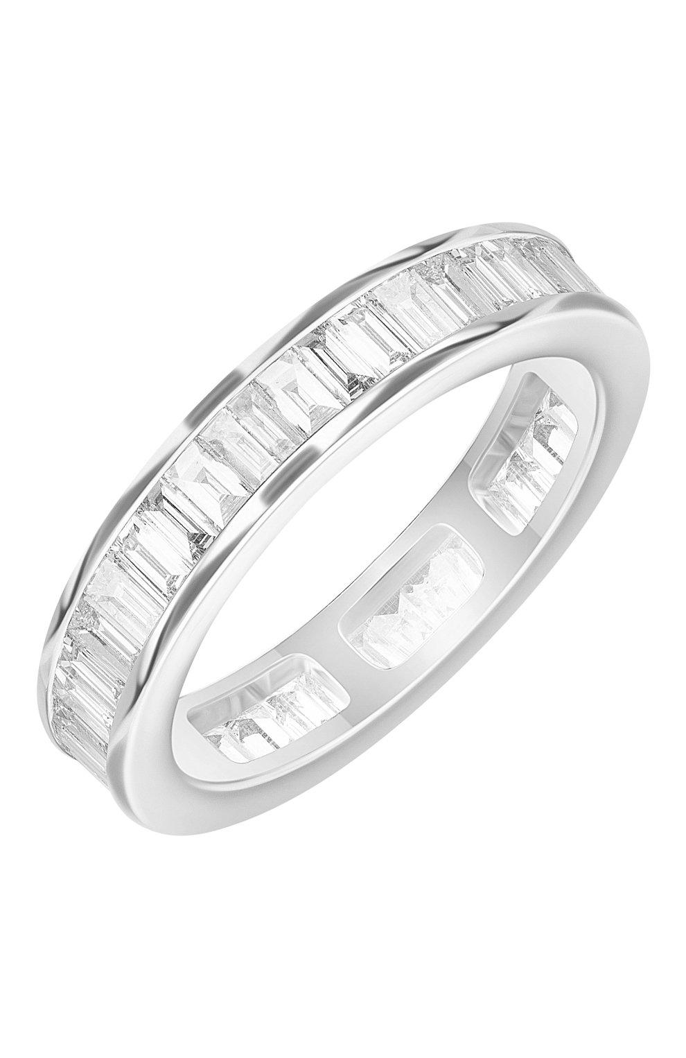 Женские кольцо MERCURY белого золота цвета, арт. MR808/WG/1BD0.05 | Фото 1