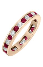Женские кольцо MERCURY бесцветного цвета, арт. MR22375/RG/1RDRU0.05 | Фото 1 (Материал сплава: Розовое золото; Драгоценные камни: Бриллианты)