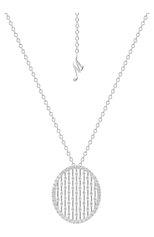 Женские кулон MERCURY бесцветного цвета, арт. MP25336/WG/OV | Фото 1 (Материал сплава: Белое золото; Драгоценные камни: Бриллианты)