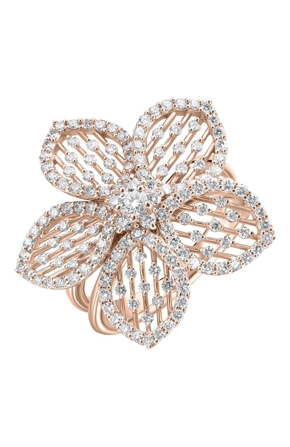 Женские кольцо MERCURY розового золота цвета, арт. MR24979/RG/FL   Фото 1