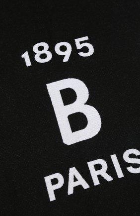Мужской шерстяной шарф BERLUTI черно-белого цвета, арт. T16SJ49-001 | Фото 2