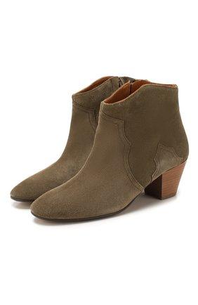 Замшевые ботинки Dicker | Фото №1