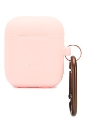 Чехол для airpods ELAGO розового цвета, арт. EAPSC-HANG-PK   Фото 1 (Статус проверки: Проверена категория)