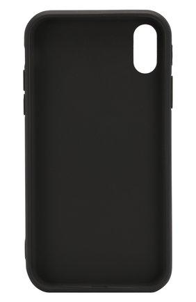 Мужской чехол для iphone xr MISHRABOO черного цвета, арт. No eat no sex Xr | Фото 2