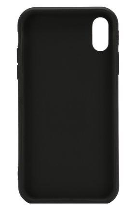 Мужской чехол для iphone xr MISHRABOO черного цвета, арт. For talking black Xr | Фото 2