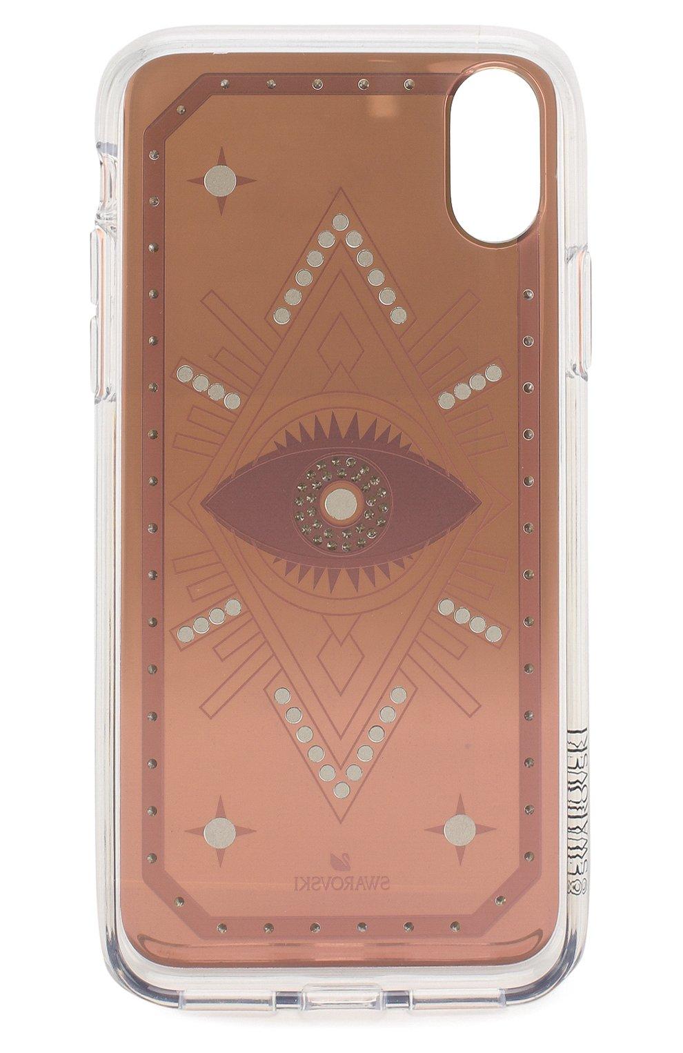 Мужской чехол для iphone x/xs SWAROVSKI разноцветного цвета, арт. 5507388 | Фото 2