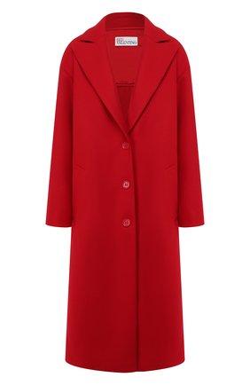 Женское шерстяное пальто REDVALENTINO красного цвета, арт. SR0CAA95/497 | Фото 1
