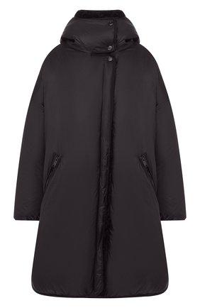 Женский пуховик с капюшоном YS ARMY PARIS черного цвета, арт. 20WFM05496F65X | Фото 1