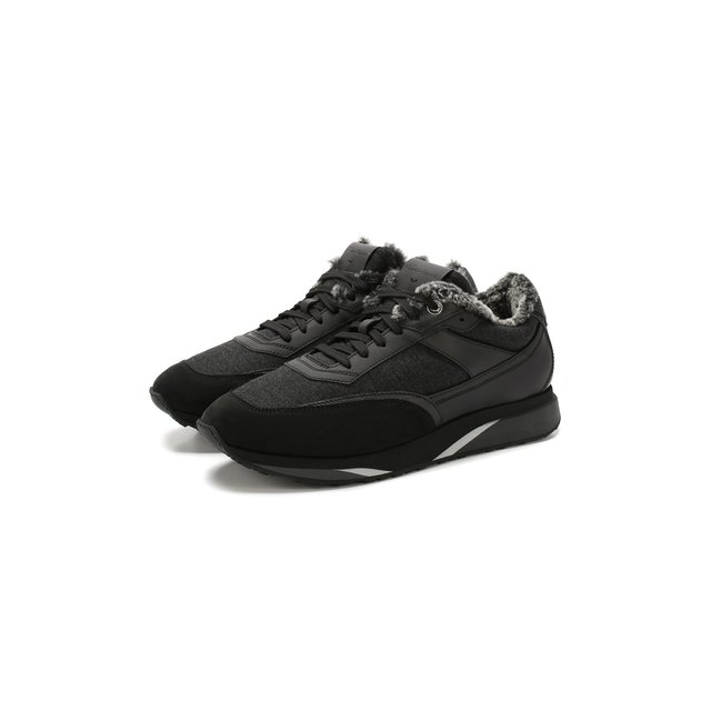 Комбинированные кроссовки Santoni — Комбинированные кроссовки