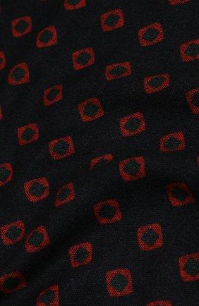 Мужской шерстяной шарф ALTEA синего цвета, арт. 1960044   Фото 2