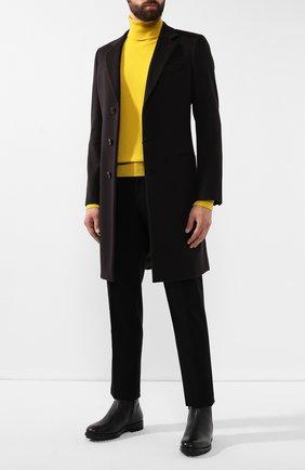 Мужские кожаные сапоги ANTONIO MAURIZI черного цвета, арт. 9783/MAMUT   Фото 2