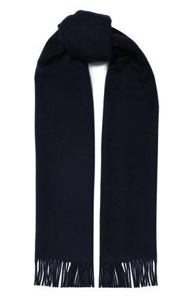 Мужской шерстяной шарф ACNE STUDIOS синего цвета, арт. 270176/M | Фото 1
