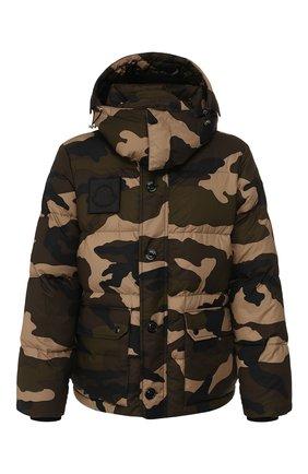 Мужская пуховая куртка dary MONCLER хаки цвета, арт. E2-091-41896-05-54ABL | Фото 1