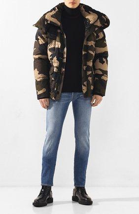 Мужская пуховая куртка dary MONCLER хаки цвета, арт. E2-091-41896-05-54ABL | Фото 2