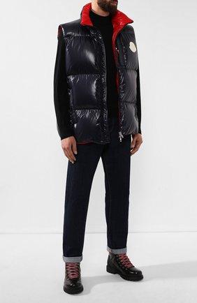 Мужские кожаные ботинки BOGNER черного цвета, арт. 193-8583/HELSINKI 1E | Фото 2