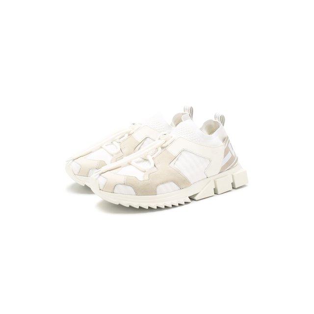 Комбинированные кроссовки Sorrento trekking Dolce & Gabbana