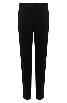 Мужской брюки JIL SANDER черного цвета, арт. JSMP310131-MP451000 | Фото 1