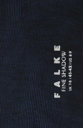 Мужские носки FALKE темно-синего цвета, арт. 13189 | Фото 2 (Материал внешний: Синтетический материал, Шерсть; Статус проверки: Проверено; Кросс-КТ: бельё)
