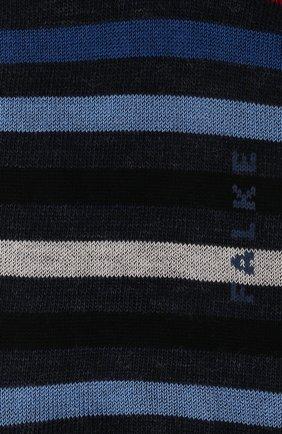 Мужские носки из смеси шерсти и хлопка tinted stripe FALKE разноцветного цвета, арт. 13279 | Фото 2