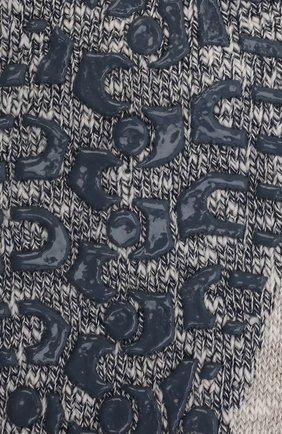 Мужские хлопковые носки lodge homepad FALKE серого цвета, арт. 13361 | Фото 2