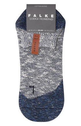 Мужские хлопковые носки lodge homepad FALKE синего цвета, арт. 13361 | Фото 1