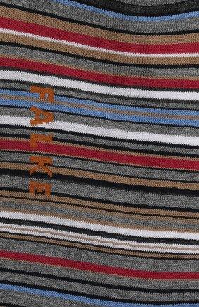 Мужские хлопковые носки microblock FALKE серого цвета, арт. 14041 | Фото 2