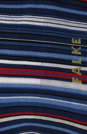 Мужские хлопковые носки microblock FALKE синего цвета, арт. 14041 | Фото 2