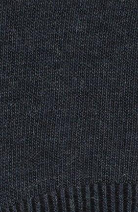 Мужские хлопковые подследники family FALKE синего цвета, арт. 14666 | Фото 2