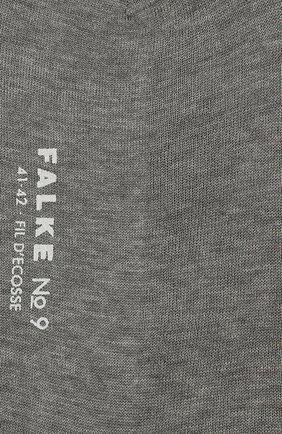 Мужские хлопковые носки FALKE серого цвета, арт. 14651 | Фото 2