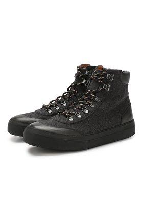 Комбинированные ботинки   Фото №1