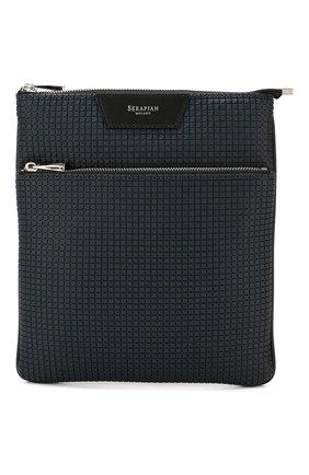 Мужская сумка-планшет SERAPIAN темно-синего цвета, арт. SSTEPMML6794M23C | Фото 1