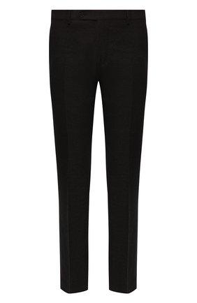 Мужские брюки из шерсти и кашемира ANDREA CAMPAGNA коричневого цвета, арт. SC/1/FA2064 | Фото 1 (Материал внешний: Шерсть; Длина (брюки, джинсы): Стандартные; Материал подклада: Купро; Случай: Повседневный, Формальный; Стили: Классический)