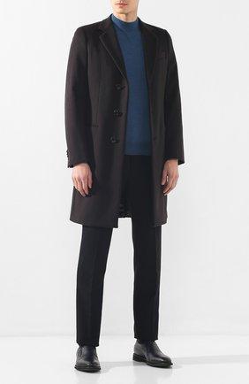 Мужские кожаные лоферы BARRETT темно-синего цвета, арт. 192U089.2/CERV0 ASP0RTABILE | Фото 2